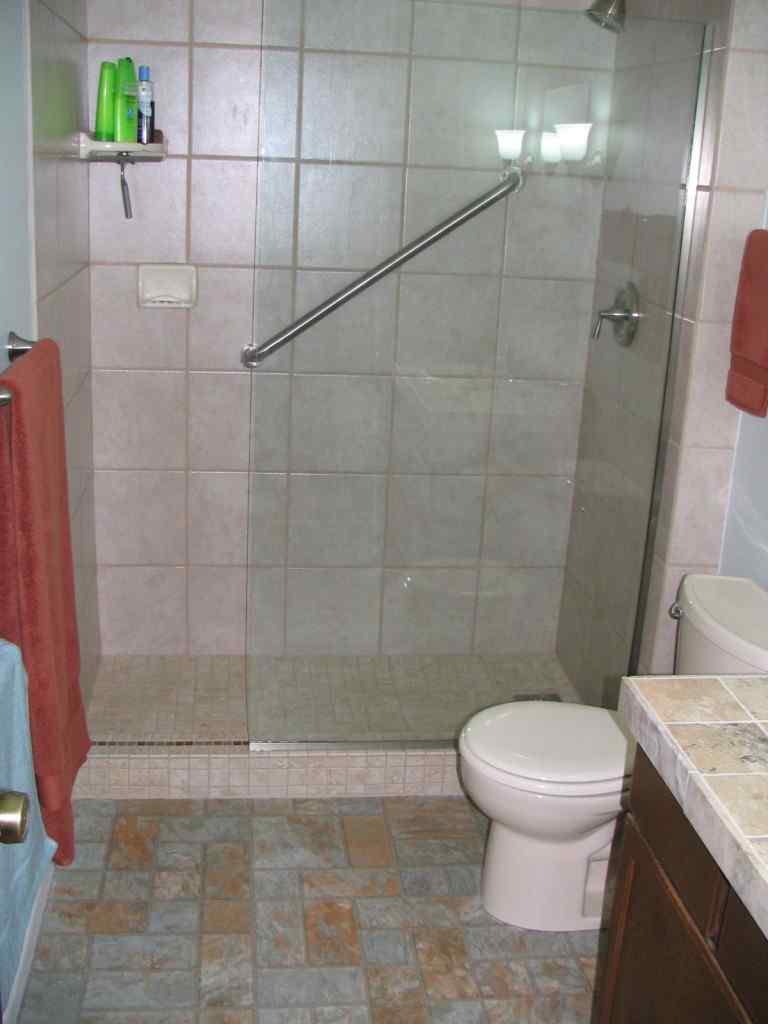 Bathroom Leaking To Floor Below : Bathroom remodel royal holland inc