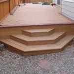 Small Trex Garder Deck