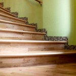 Real Wood Stair Case
